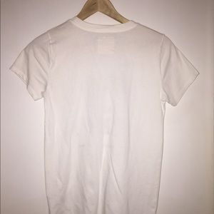 Hollister Tops - White T-shirt by Hollister